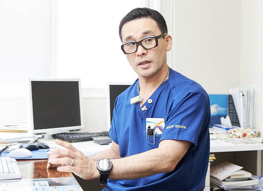 院長先生の写真